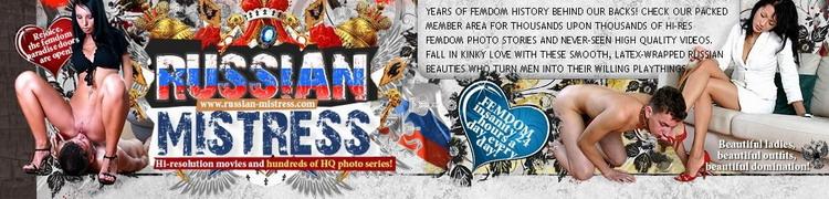 Russian-Mistress.com Русские Госпожи и рабы
